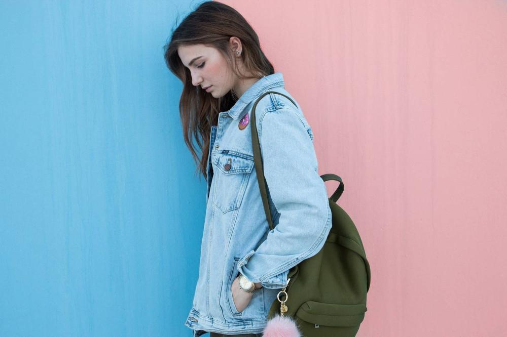 Plecak worek z podszewką- jak uszyć?